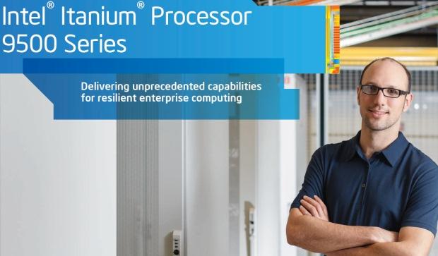 Intel finalmente lanza sus procesadores Itanium 9500 series (Poulson)