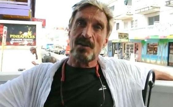 El fundador de McAfee buscado por homicidio en Belice