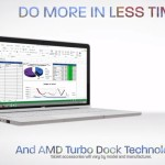 "AMD anuncia ""AMD Turbo Dock Technology"" para tabletas convertibles basadas en ""Temash"""