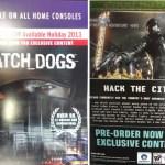 Se filtra poster de Watch Dogs revelando detalles del lanzamiento.