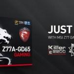 CeBIT 2013: MSI anuncia la Z77A-GD65 Gaming y memorias DDR3-3000 MHz?