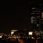 Curiosidades: Juegan PONG en el costado de un edificio de 29 pisos