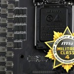 MSI prepara la MPower Max Z87 con tecnología Military Class 4 y 32 fases de energía