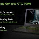 NVIDIA introduce sus nuevas GPUs GeForce GTX 700M series