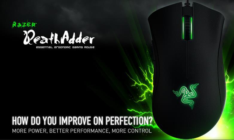 Razer lanza la versión 2013 de su mouse DeathAdder.