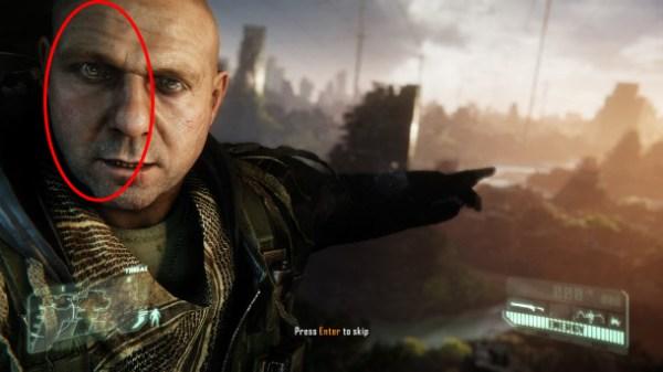 Sombreado de personaje en Crysis 3.