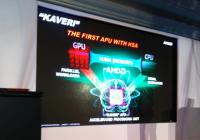 CPTX2013: AMD mostró en sociedad sus APUs 'KAVERI'