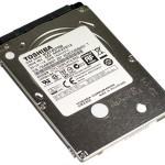Toshiba anuncia sus primeros HDD de 7mm con rotación de 7278 RPM