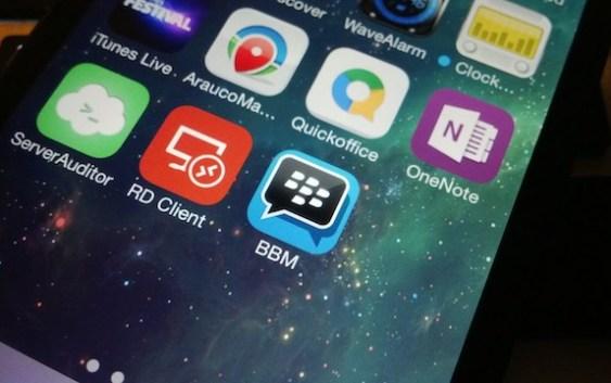 BBM suma 20 Millones de nuevos usuarios en su primera semana