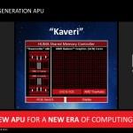 """AMD: APUs """"Kaveri"""" ofrecerán un 20% extra en CPU y 30% en GPU sobre """"Richland"""""""