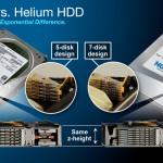 HGST lanza sus primeros discos duros de 6 TB rellenos con helio