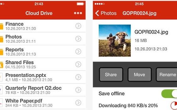 MEGA lanzo su aplicación oficial para iOS