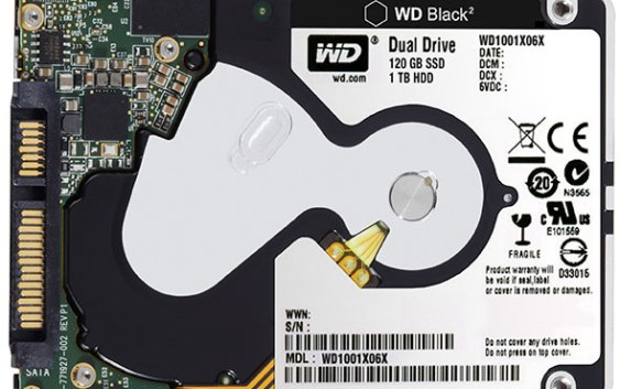 Western Digital lanza su unidad Black2 Dual-Drive (1 TB HDD + 120GB SSD)
