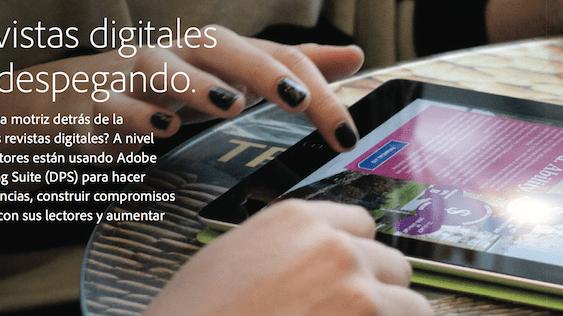 Adobe:  Las Revistas Digitales están Despegando