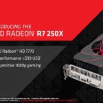 AMD lanza oficialmente la Radeon R7 250X