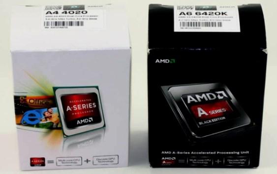 """AMD introduce las APU: AMD A4-4020, A6-6320 y A6-6420K  """"Richland"""" dua-core"""