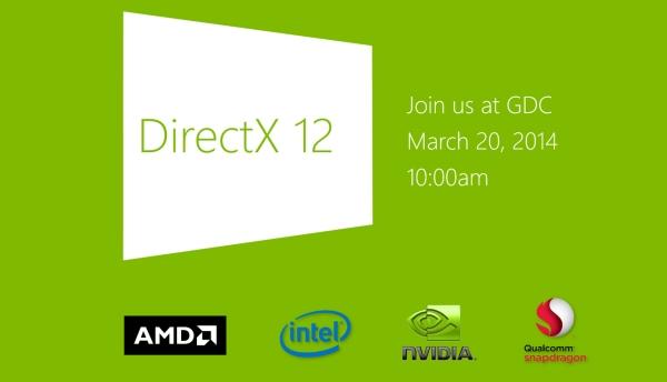Microsoft revelara los primeros detalles de DirectX 12 en la GDC 2014