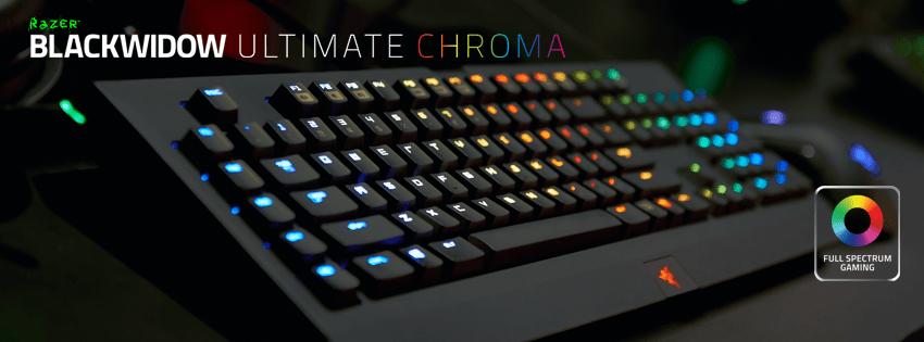 Razer Chroma es lo último de Razer para personalizar tus perifericos.