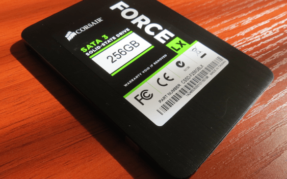 Review SSD Corsair Force LX 256GB