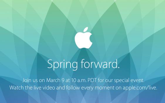 """Evento de Apple """"Spring Forward"""" para el 9 de Marzo"""
