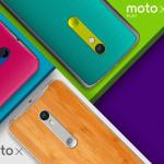 Motorola anuncia sus Moto X Style, Moto X Play y Moto G (2015).