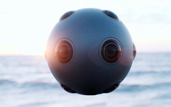 NOKIA anuncia OZO, cámara de realidad virtual para el mercado profesional