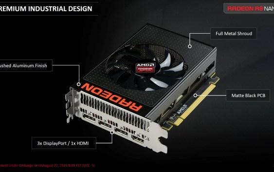 AMD lanzó la Radeon R9 Nano (Reviews)