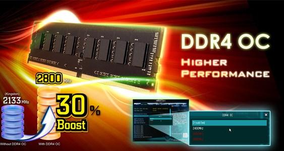 ASRock permite Overclockear memorias DDR4 en placas que no cuentan con el chipset Z170