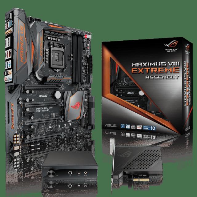 ROG Maximus VIII Extreme_Assembly+10G Express+SupremeFX Hi-Fi