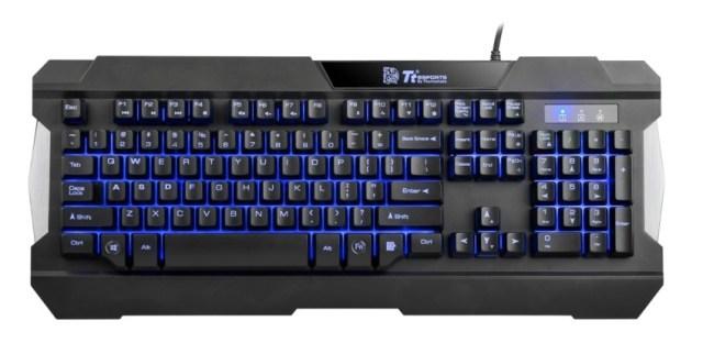 Tt eSPORTS COMMANDER COMBO (MULTILIGHT) Gaming Gear Combo-Keyboard