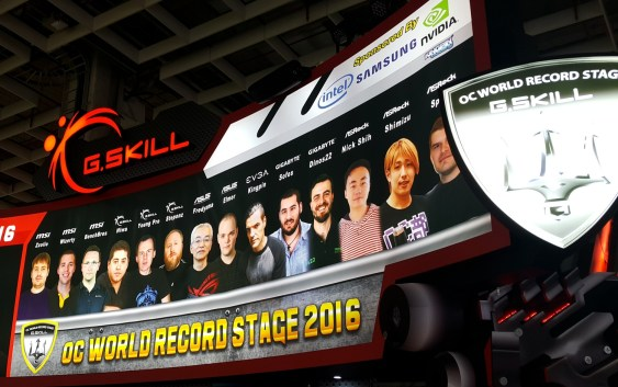 CPTX2016: G.SKILL alcanza 5189.2MHz de frecuencia en DDR4 y 12 registros de Overclocking.