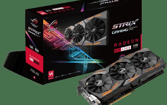 ASUS ROG anuncia su nueva tarjeta grafica RX 480 Strix