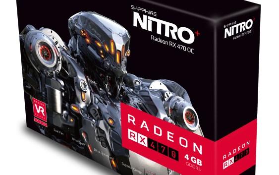 Sapphire lanza su familia de tarjetas Radeon RX 470 Nitro+ (4GB y 8GB)