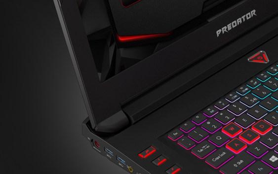 """Acer prepara laptop con pantalla curva de 21"""", dual-GPU, 4 SSD y teclado mecánico"""