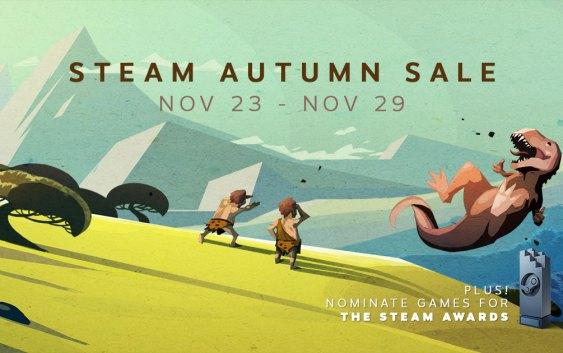 Steam inicia sus rebajas de otoño con descuentos en juegos de hasta un 75%