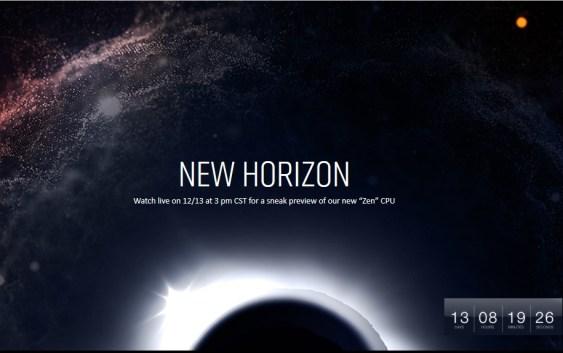AMD anunciará nuevos detalles de sus procesadores ZEN el 13 de diciembre.