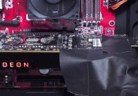 AMD VEGA 10, tarjeta gráfica fotografiada