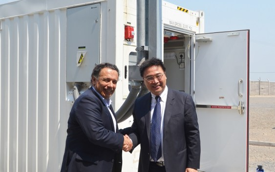 Chile: Huawei y Entel inauguran Container Data Center
