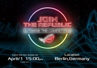 ASUS Republic of Gamers anuncia el evento de juegos Join the Republic: Eclipsa a tu Rival