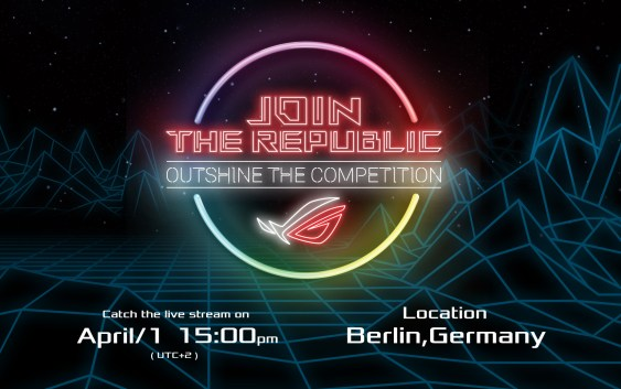 ASUS Republic of Gamers anuncia el evento de juegos Join the Republic: Eclipsa a tu Rival
