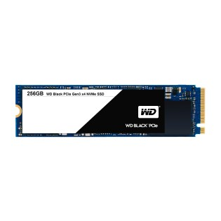 WD Black PCIe SSD 256 GB
