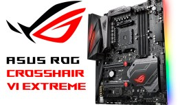 ASUS Republic of Gamers Anuncia Crosshair VI Extreme para AM4