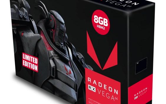 Sapphire anuncia sus Radeon RX Vega 64