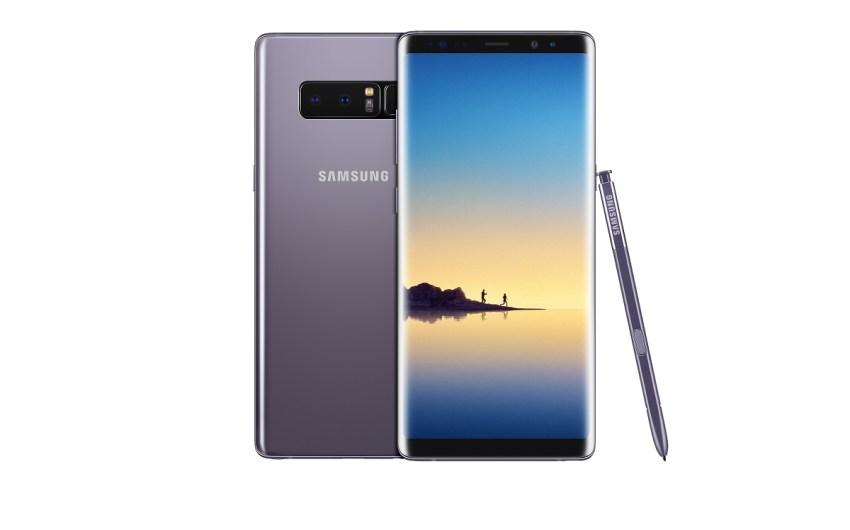 Samsung lanzó el Galaxy Note8