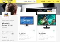 ViewSonic crea canal de ventas oficial en Mercado Libre Chile