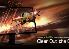 Análisis Monitor ASUS VG248QE: FullHD, 144Hz y 3D Vision Ready