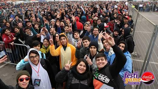 Chile: Más de 47.000 personas vibraron en Festigame Coca-Cola Zero 2017