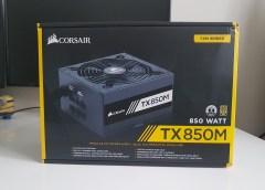 Análisis Fuente de Poder Corsair TX 850M (80Plus Gold)