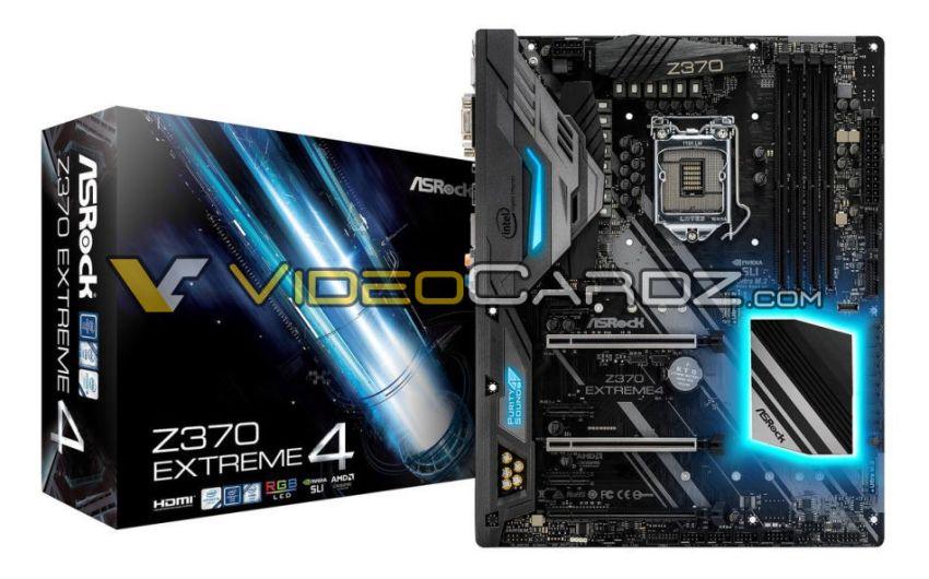 Comienzan a filtrarse las primeras placas madres Z370 por parte de ASRock.