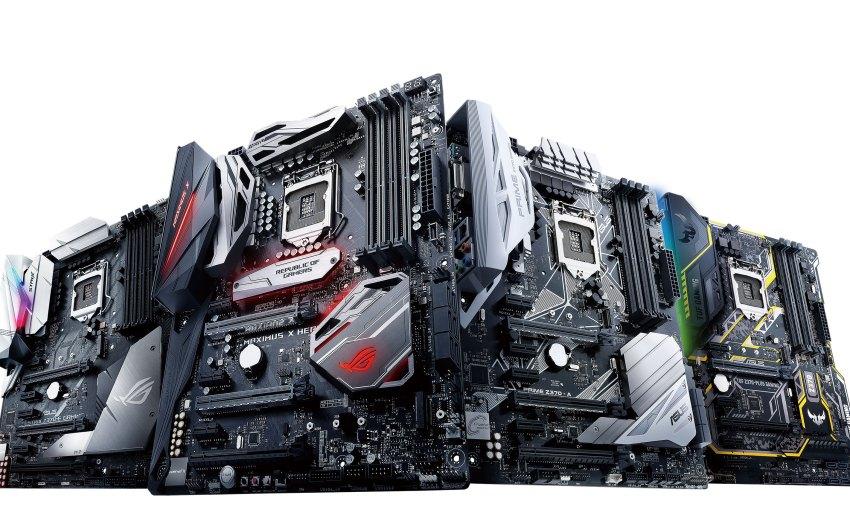 Resultado de imagen para ASUS Anuncia sus Motherboards Z370